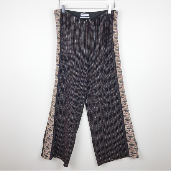 Urban Outfitters Pants - Urban Outfitters Geometric Patterned Wide Leg Pant